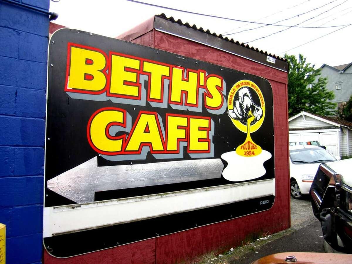 Beth's Cafe on Aurora Avenue in Seattle