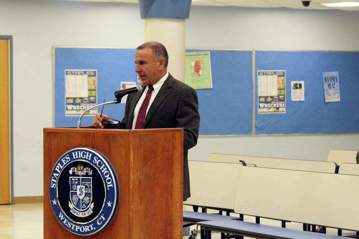 In 2019, Joseph Erardi of JE Consulting gave the Westport Board of Education a timeline for the district's superintendent search, similar to what he's doing now for Haddam-Killingworth schools.