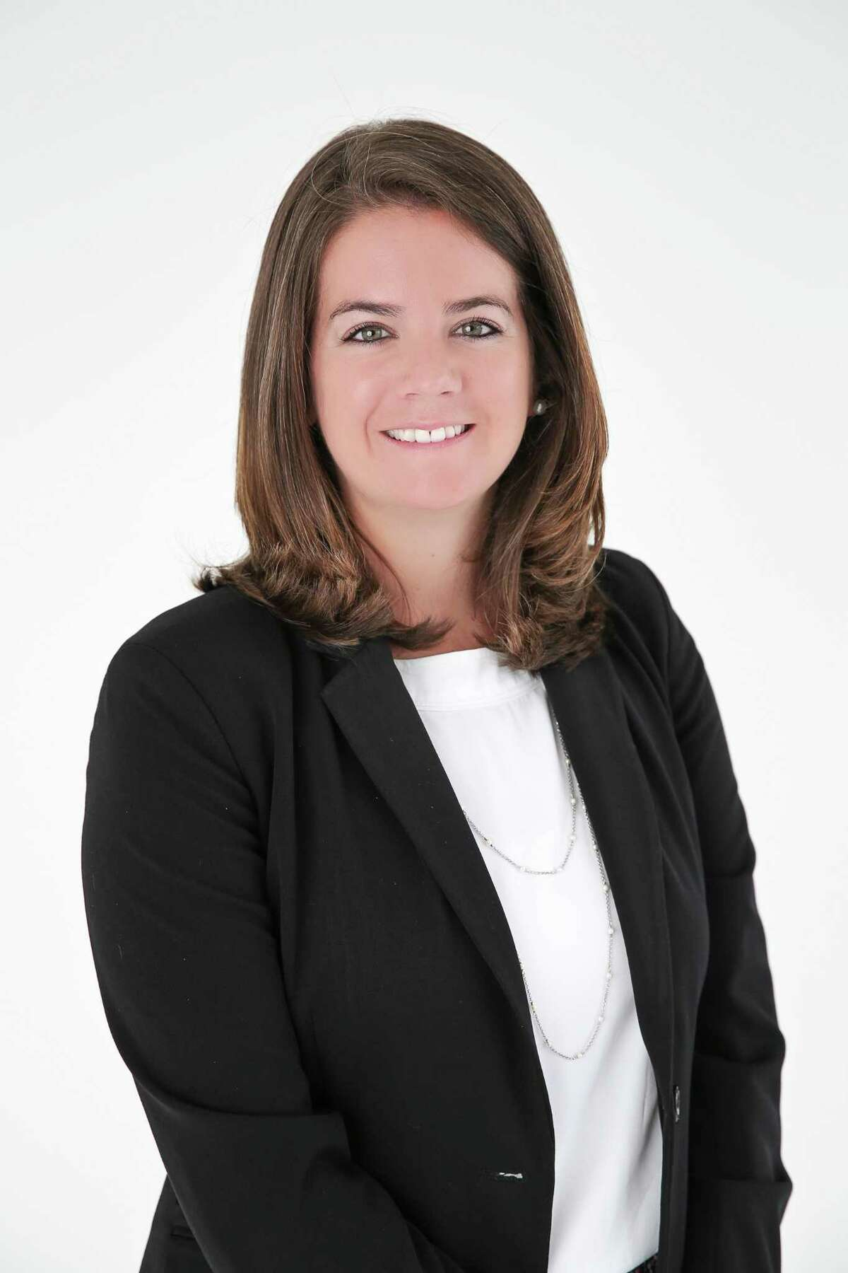 Sasha Houlihan, a Greenwich native with corporate experience, is leaving the job of director of communications with the Greenwich Public Schools.