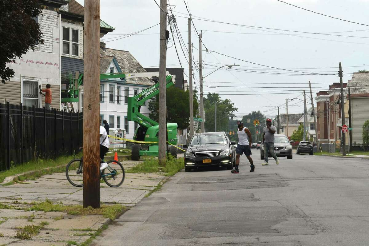 View of Craig St. on Wednesday, July 7, 2021 in Schenectady, N.Y. A city project to reshape Craig Street in the city's Hamilton Hill neighborhood will receive $2.7 million in federal funding, a major milestone for the $4.37 million project. (Lori Van Buren/Times Union)