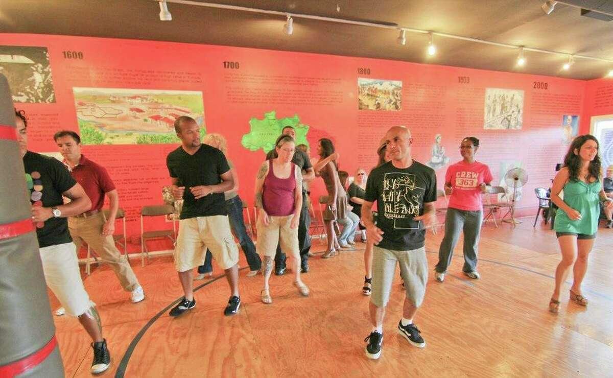 Midtown Houston presents Virtual Samba Class on YouTube Live.