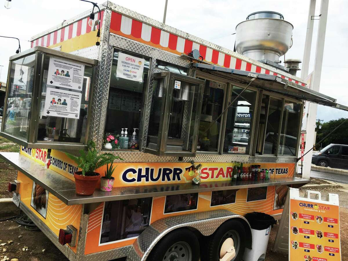 Churro Star has three San Antonio locations, including this one at the intersection of Nacogdoches Road and Loop 410.