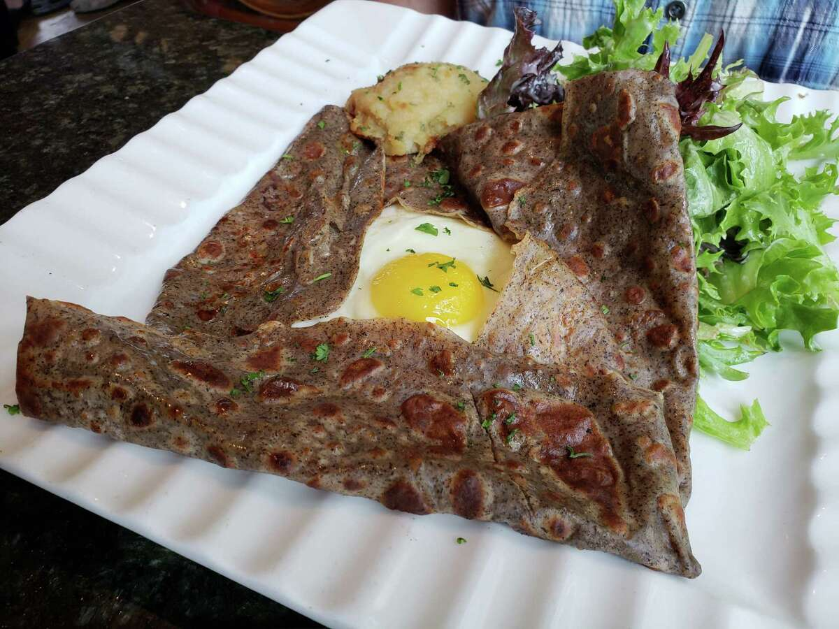 Ridgefield has long been a formidable enclave of French dining covering a full range of styles including authentic buckwheat crepes at Sucre Sale.