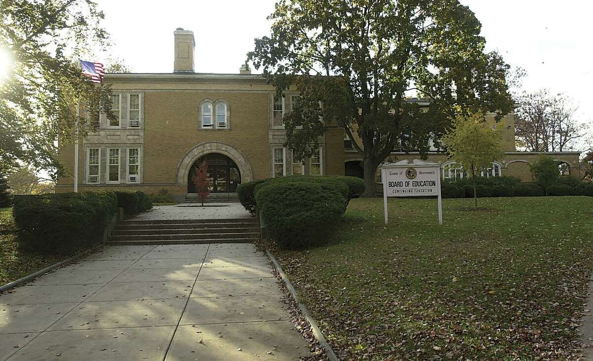 The office of the Greenwich Public Schools are in the Havemeyer Building, on Oct. 31, 2003.