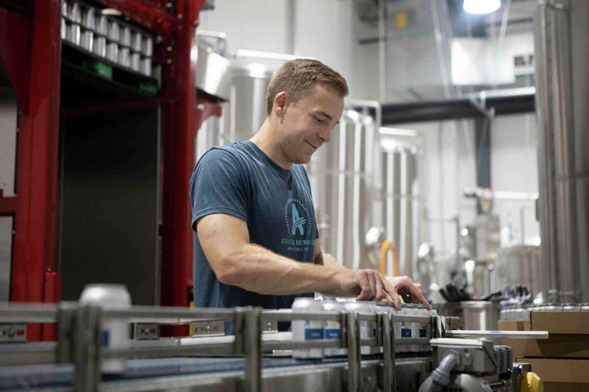 Bill Shufelt co-founded Athletic Brewing Co. based in Stratford.