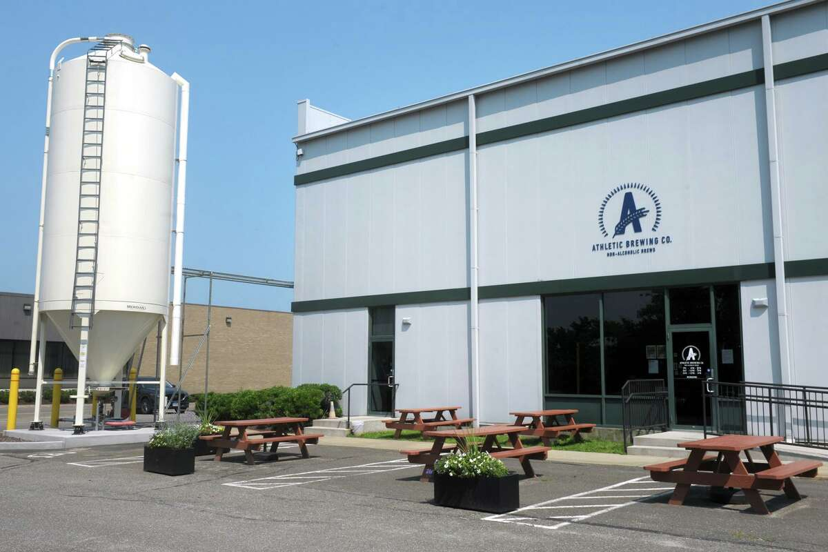Athletic Brewing Co. in Stratford, July 7, 2021