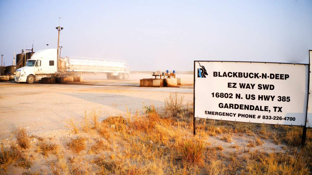 This is one of five saltwater disposal facilities Blackbuck Resources owns and operates in the Permian Basin. The company has just closed on a sustainability-linked loan to spur future growth.