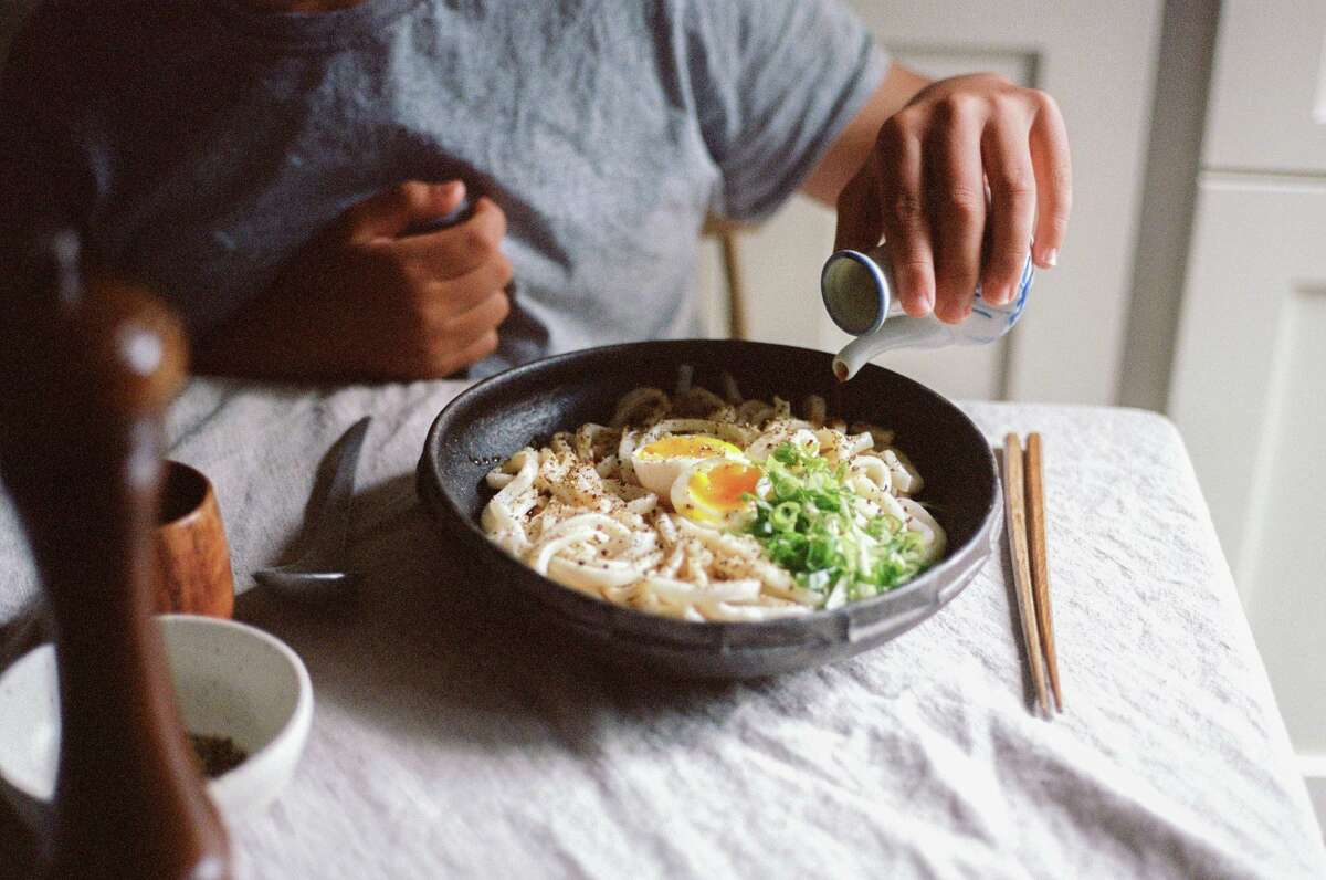"""Life Changing Udon Noodles is one of many accessible yet modern Asian-inspired recipes from Hetty McKinnon's """"To Asia, With Love"""" (Prestel Publishing)."""