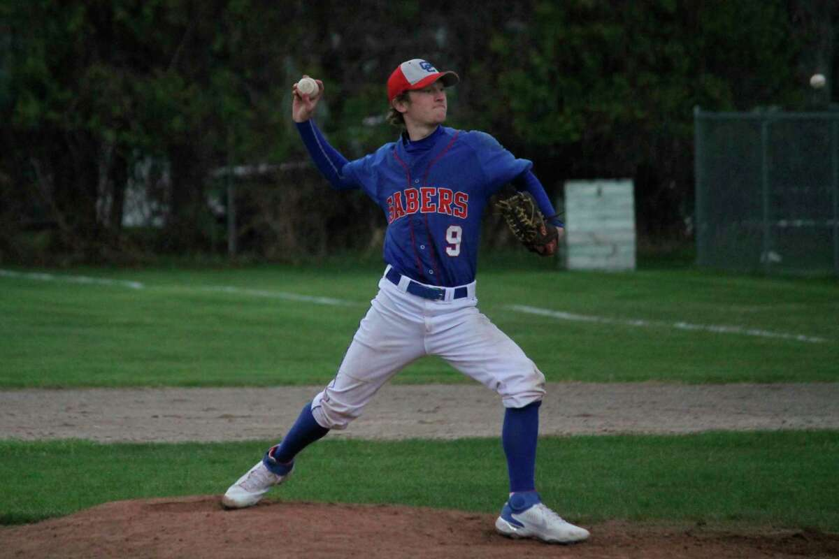 Blake Johnson won first team all-conference honors for Manistee Catholic Central in baseball this year. (News Advocate file photo)