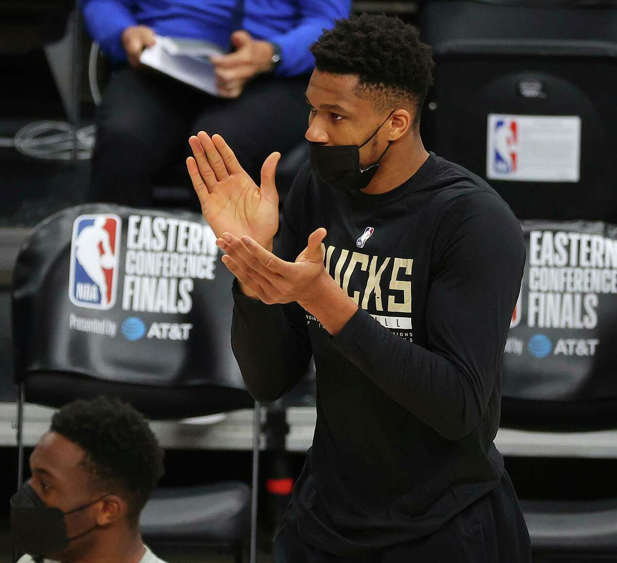 Giannis Antetokounmpo's hyperextended left knee added to a laundry list of maladies hampering key players this postseason.