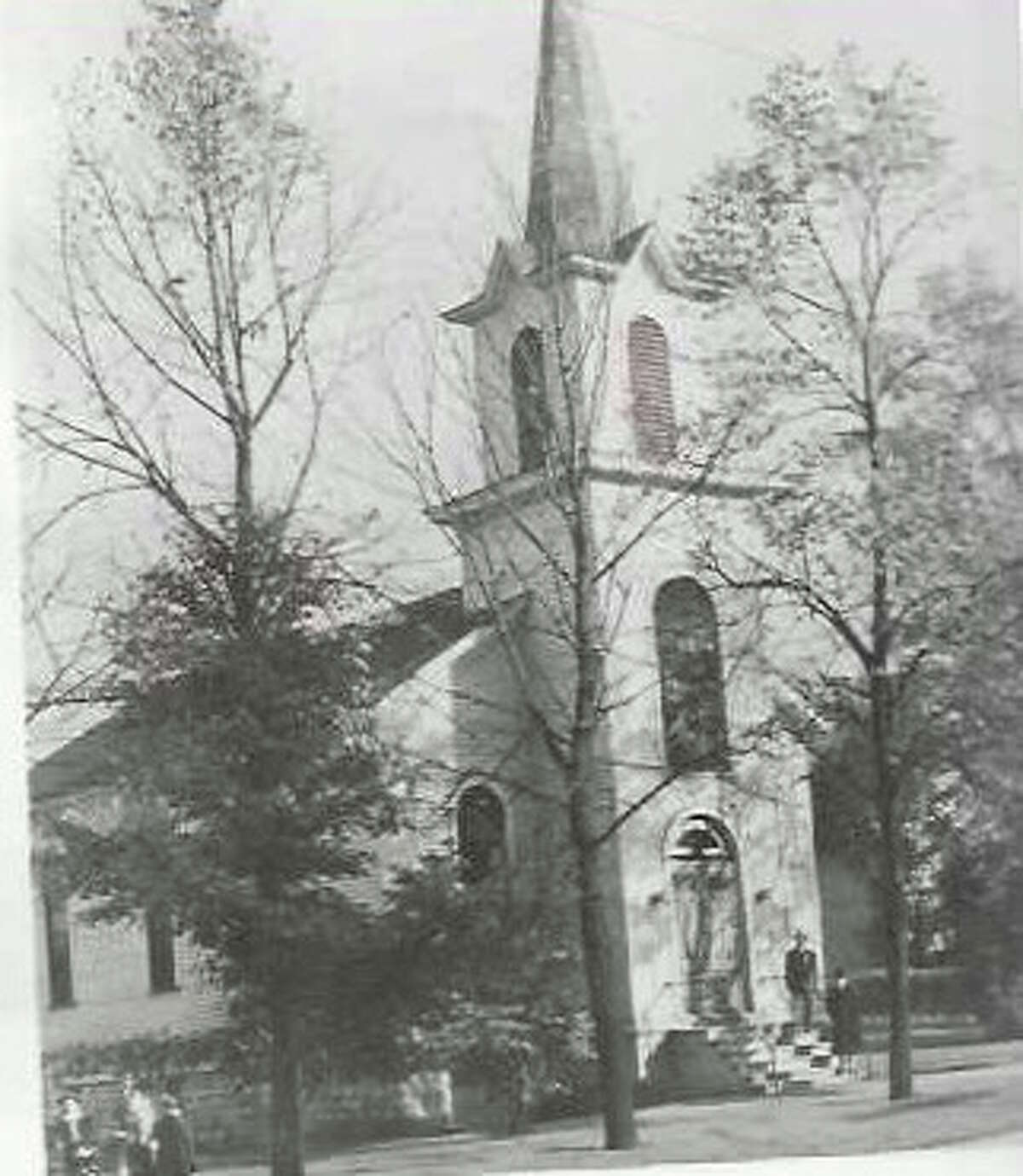 The Danish Lutheran Church, located at 304 Walnut St. in Manistee, was established in 1868.