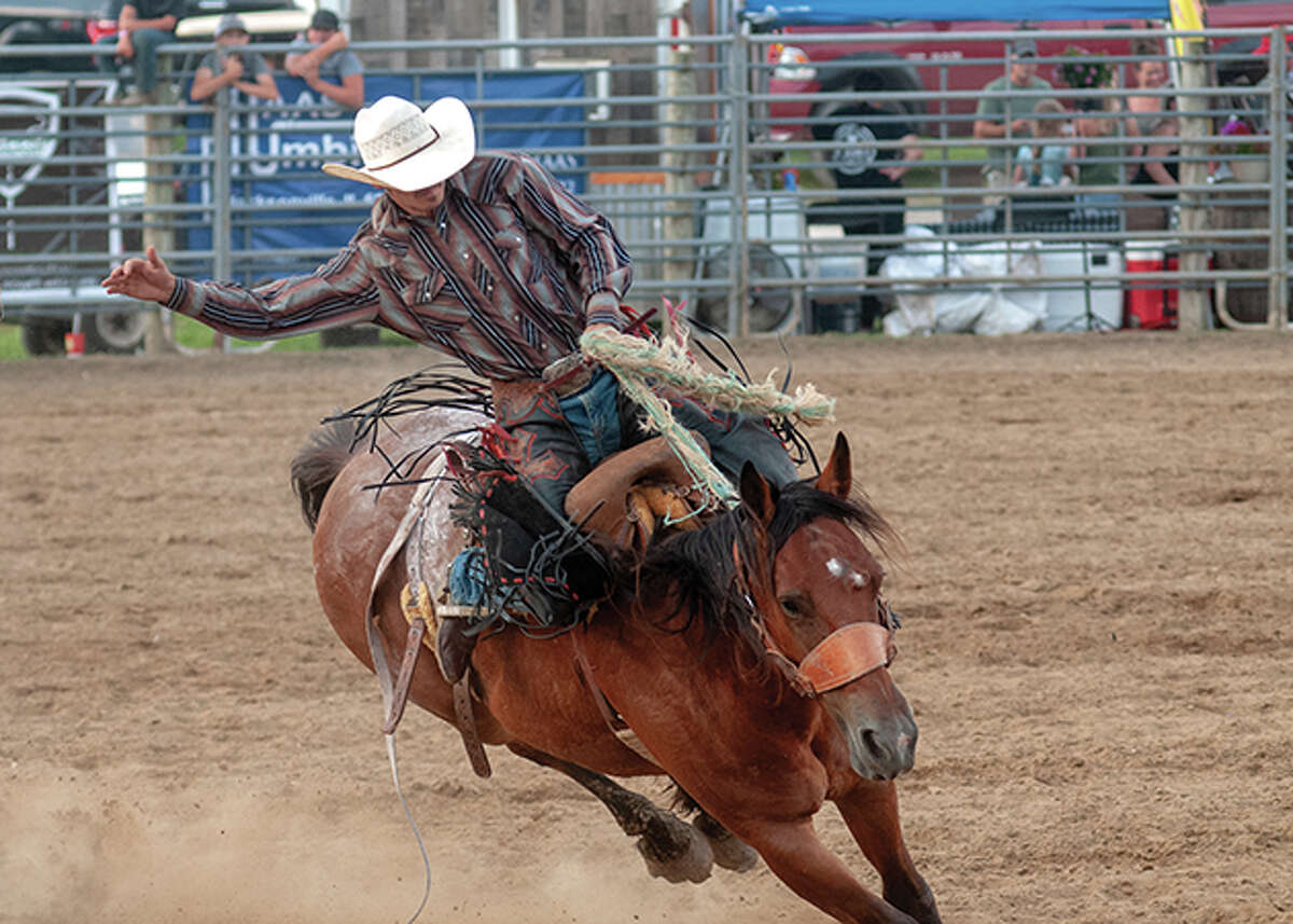 Day two of the Morgan County Fair entertained both rodeo fans and showcased talents during the scheduled talent show held Wednesday evening.