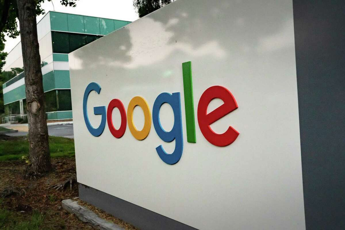 This file photograph shows Googleplex, Google's campus, on Wednesday, July 15, 2020 in Mountain View, Calif.