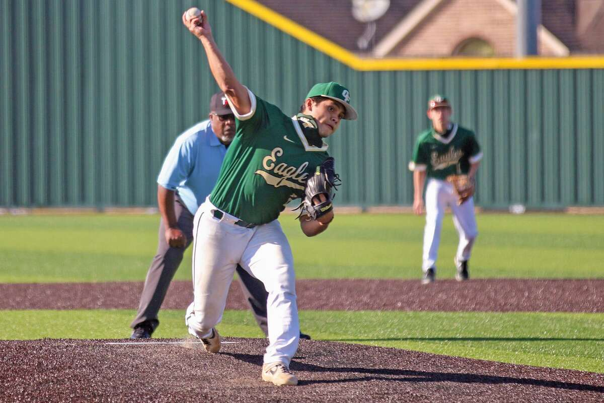 Cypress Falls High School junior Jonathan Valdez was named the 2021 District 16-6A Pitcher of the Year.