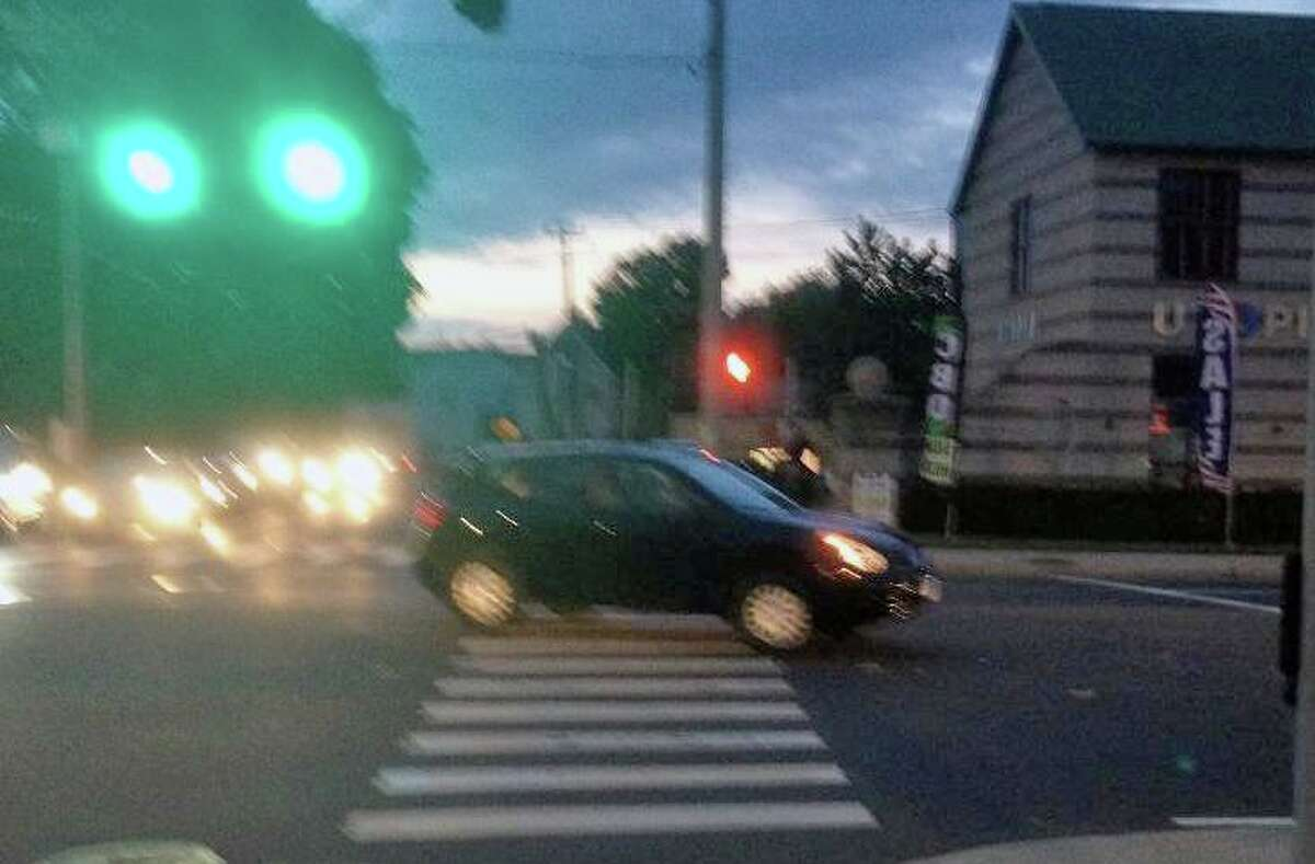 Police say this is the vehicle that struck a juvenile bicyclist in Norwalk, Conn., on June 11, 2021.
