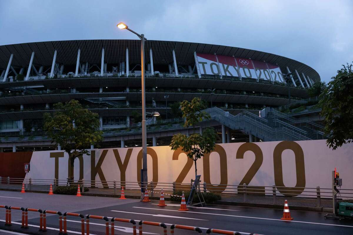 At the Tokyo Olympics, an alternate on the U.S. gymnastics team has tested positive for COVID-19.