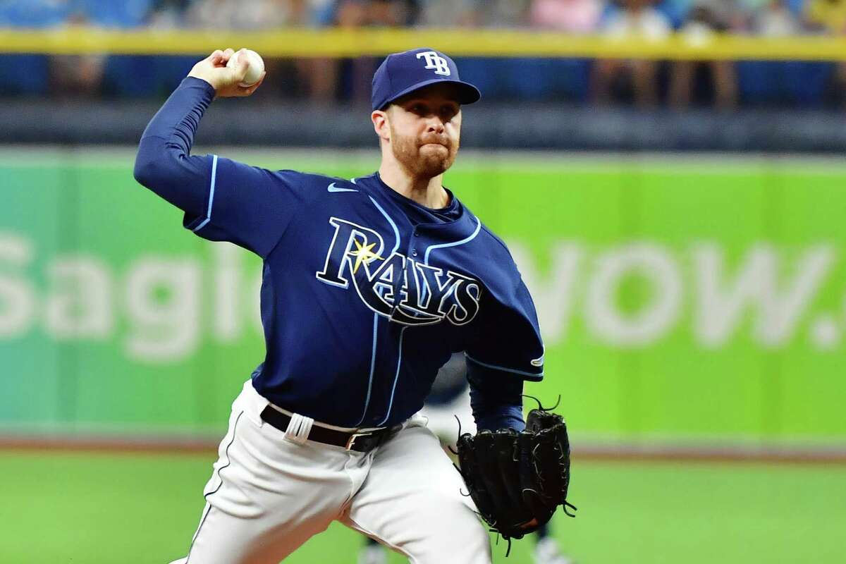 Collin McHugh started what will go down as an unofficial no-hitter for the Rays on Wednesday night.
