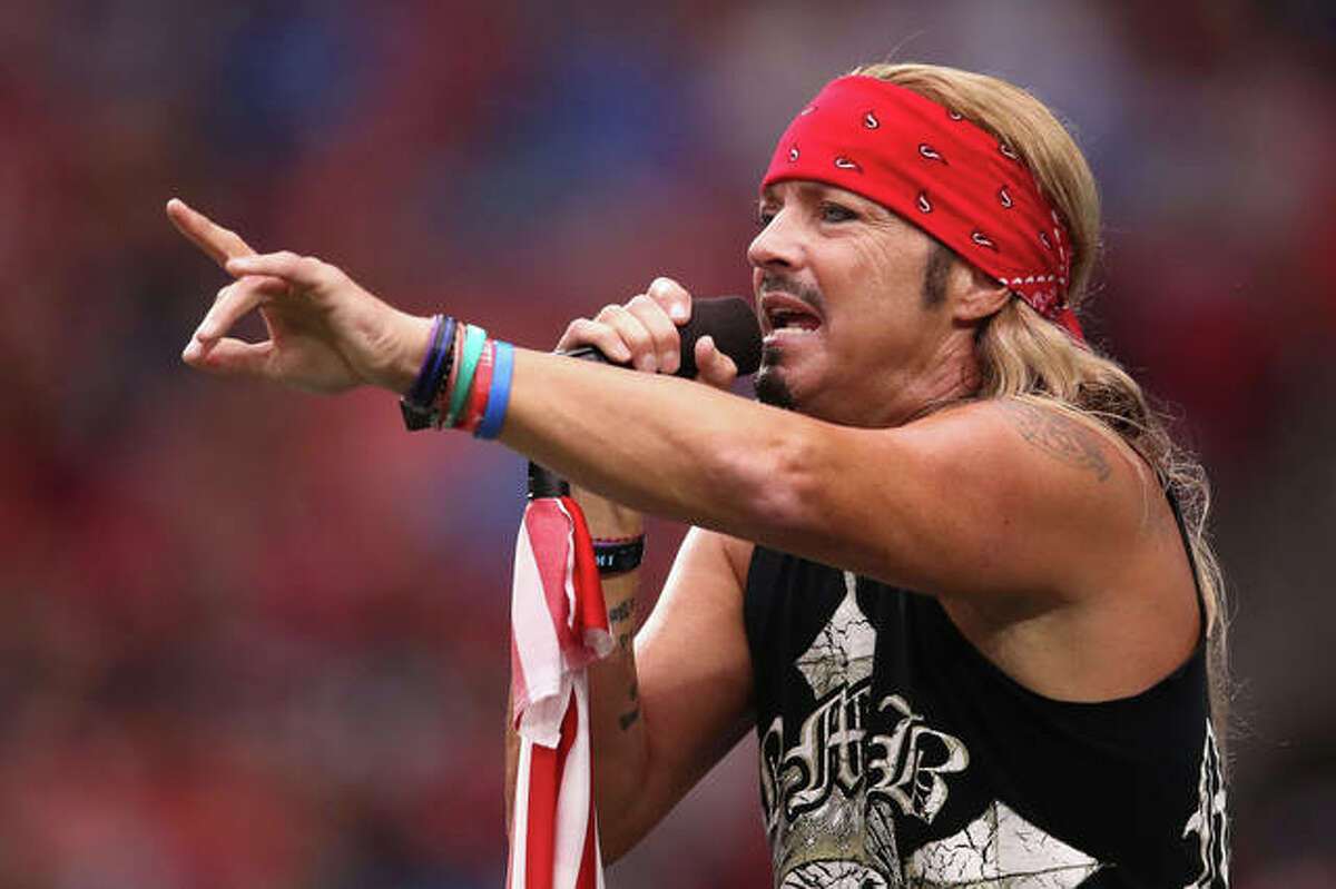 Musician Bret Michaels performs in 2019 in Arizona. He and former Twisted Sister frontman Dee Snider have been added to the lineup for the Illinois State Fair.
