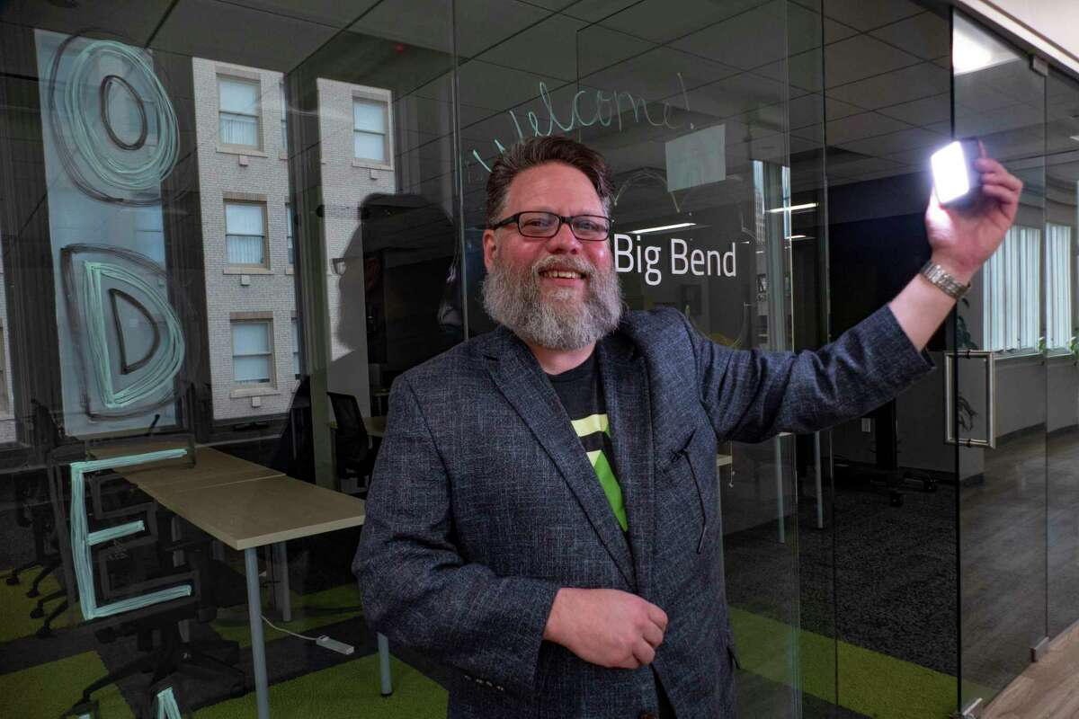 Jason Straughan, founder and CEO of CodeUp, is photographed on Wednesday, July 7, 2021.