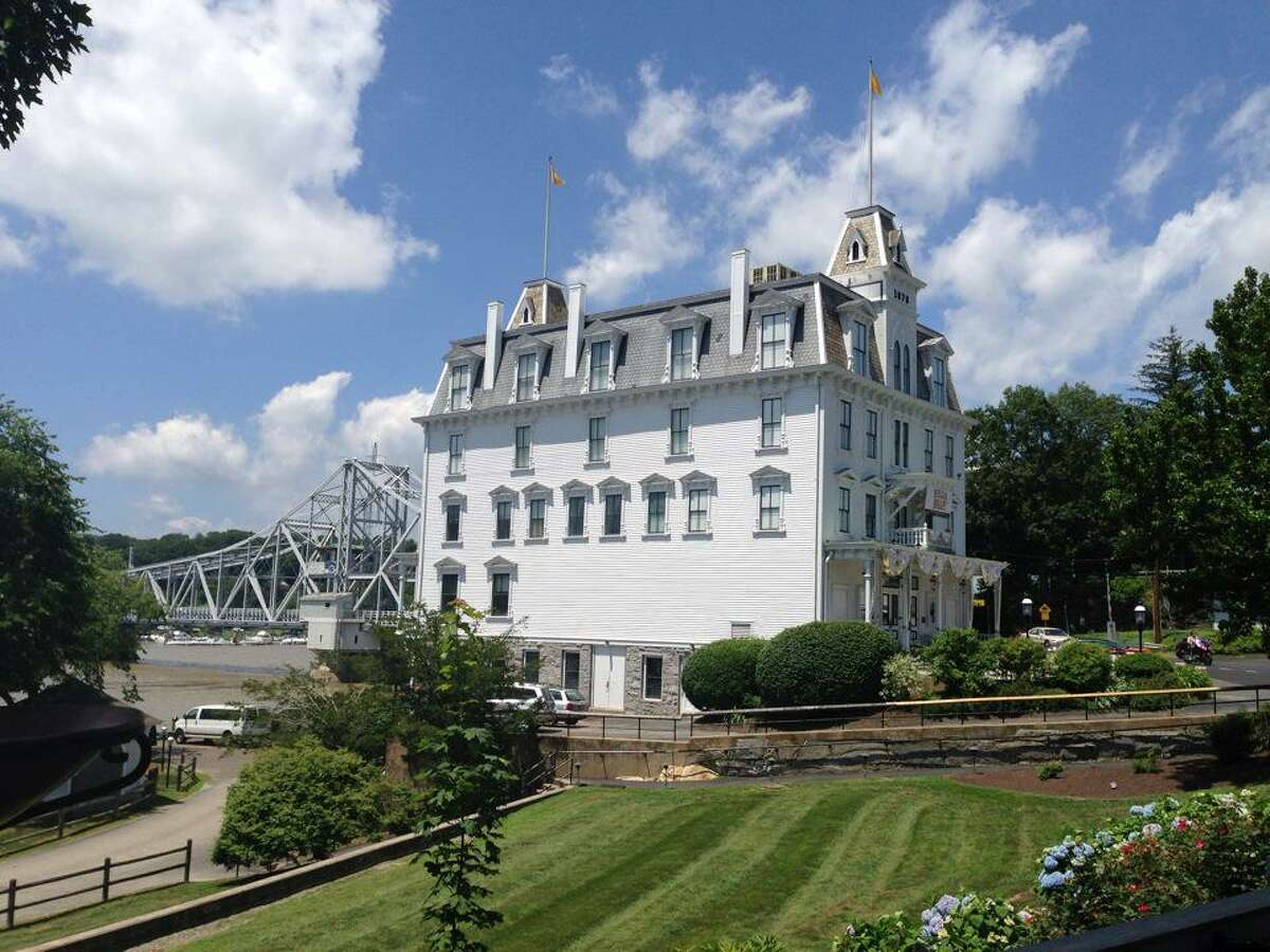 The Goodspeed Opera House is located at 6 Main St. in East Haddam