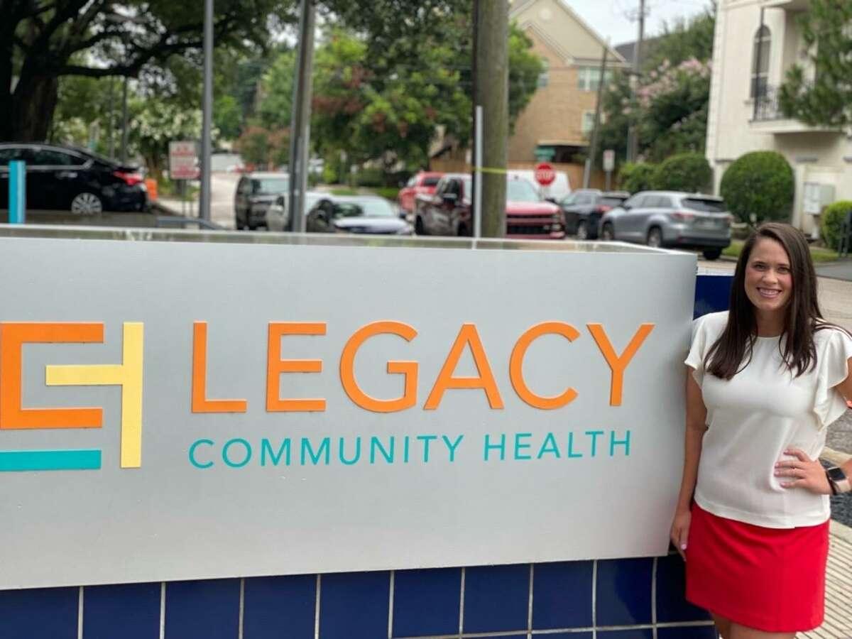 Nurse-practitioner Jessica Ginn is one of Legacy Community Health's interim senior directors for school-based health pediatrics.