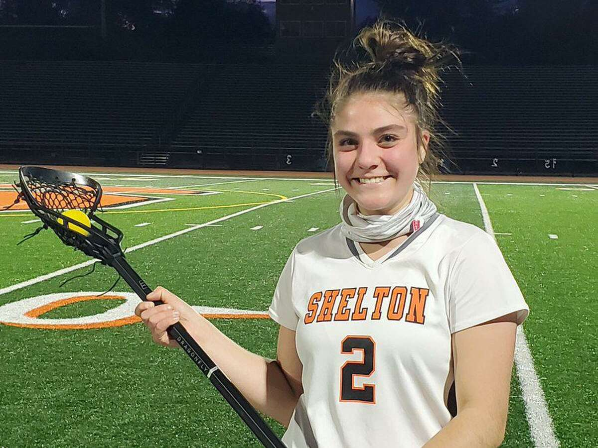 Rachel Dillon scored 61 goals as a senior at Shelton. She will play attack-midfield at King's College.