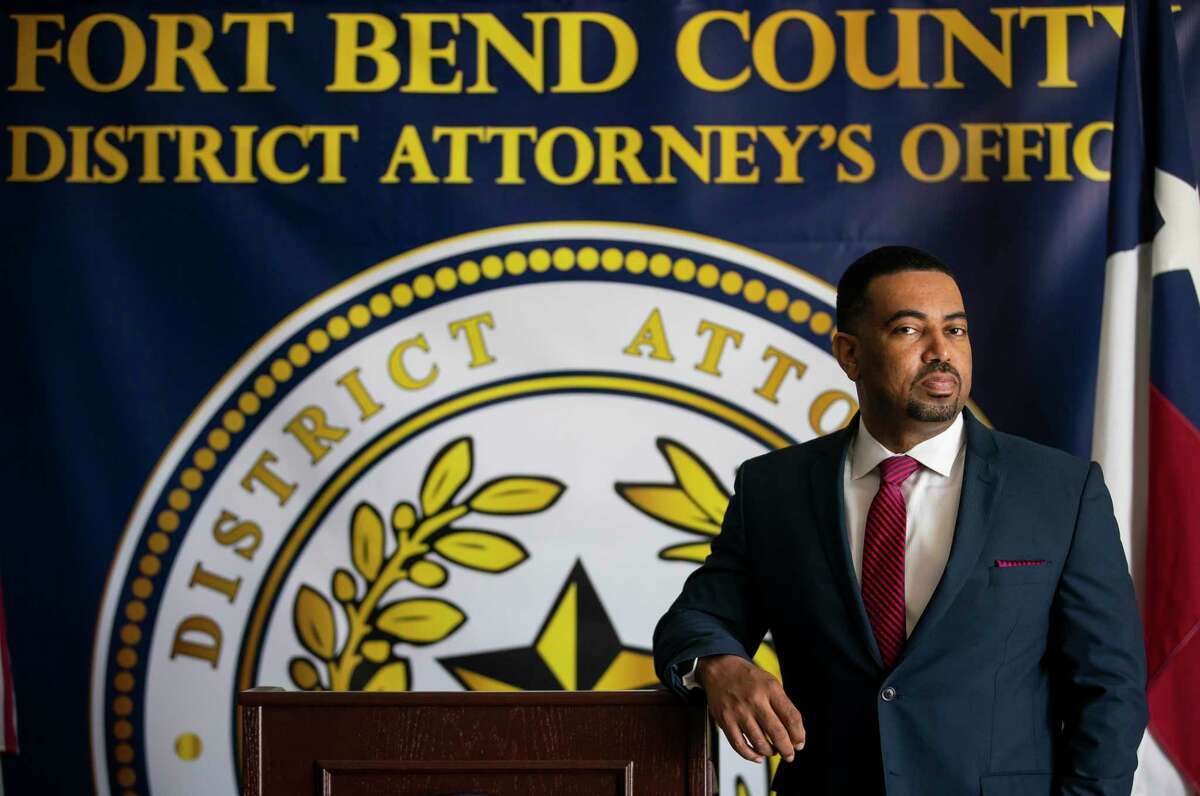 Fort Bend District Attorney Brian Middleton in his office in Richmond in this file photo.
