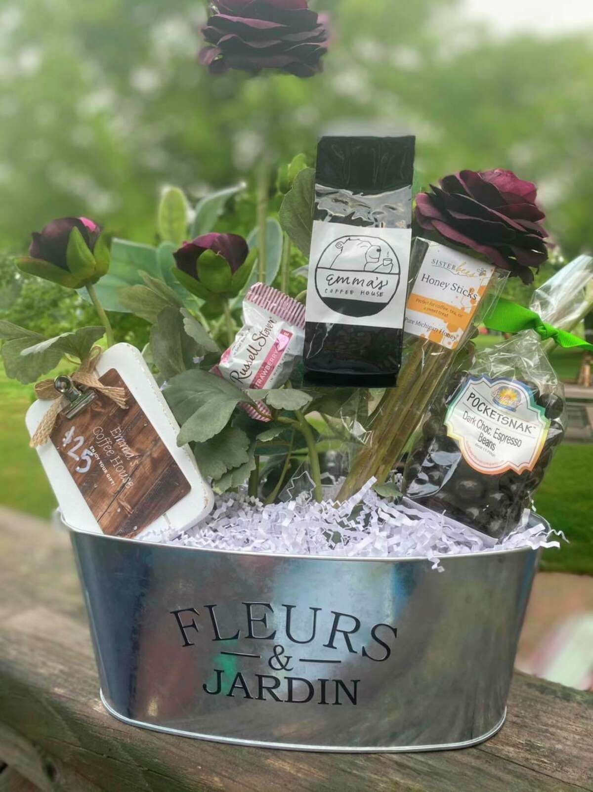 This gift basket is one of several items up for grabs at Sunday's fundraiser to benefit the victims of a tornado that hit Port Austin (Courtesy Photo)