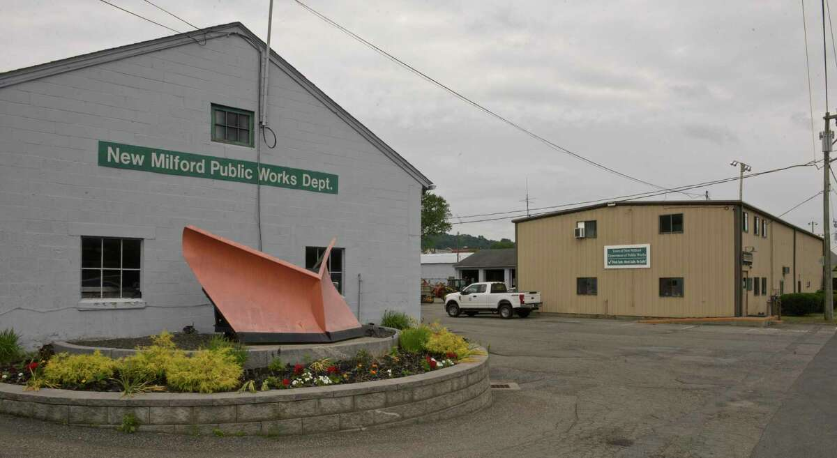 Department of Public Works garage. Thursday, July 1, 2021, in New Milford, Conn.