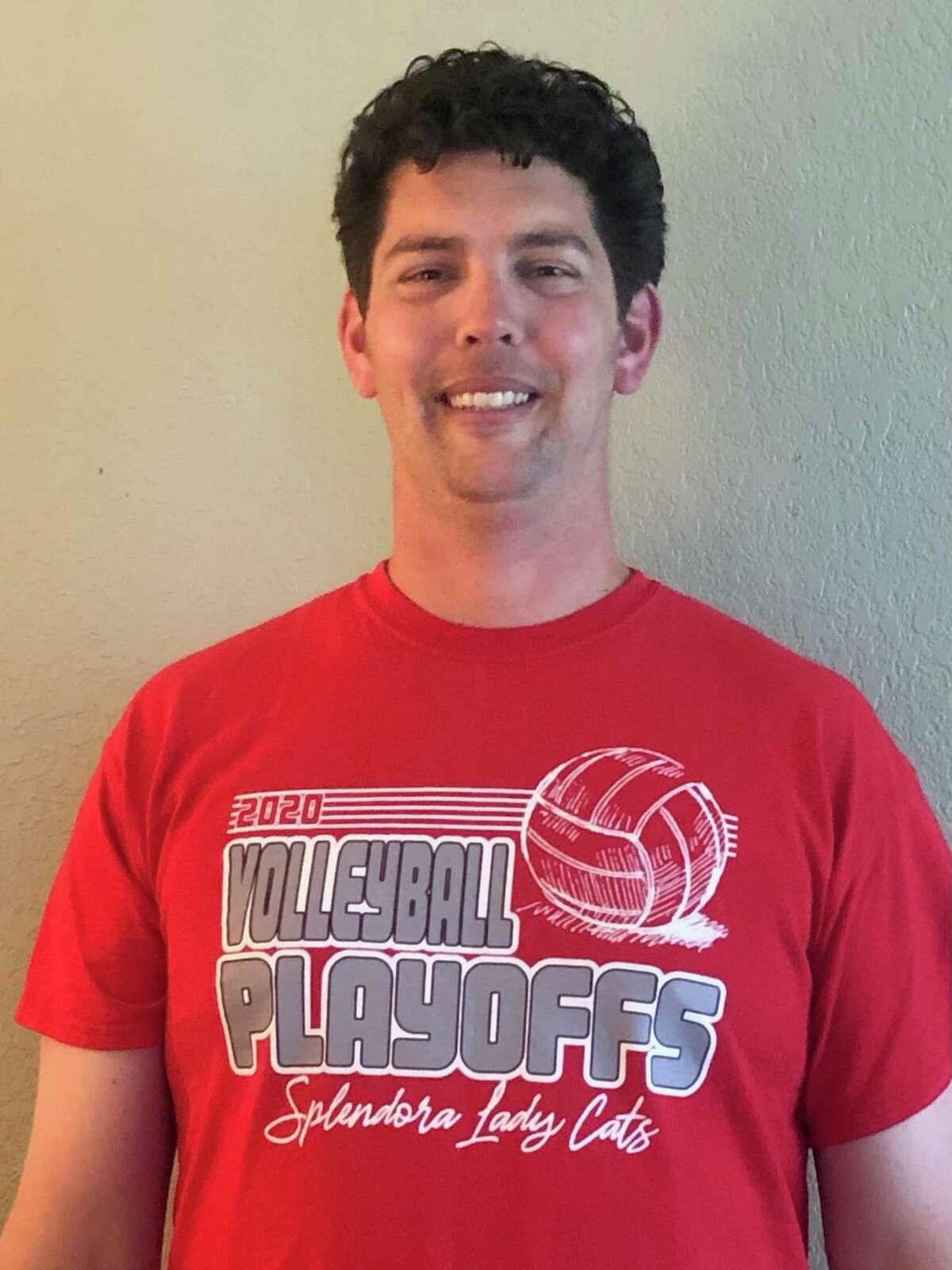 Daniel Stedman is the new Splendora volleyball coach.