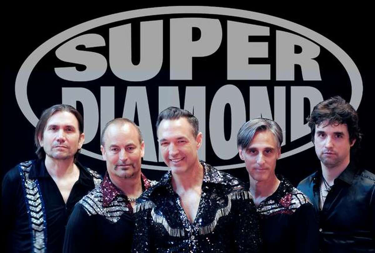 Super Diamond, a Neil Diamond tribute band, will perform at the Liberty Bank Alton Amphiteater Friday, July 9 from 8-10 p.m.