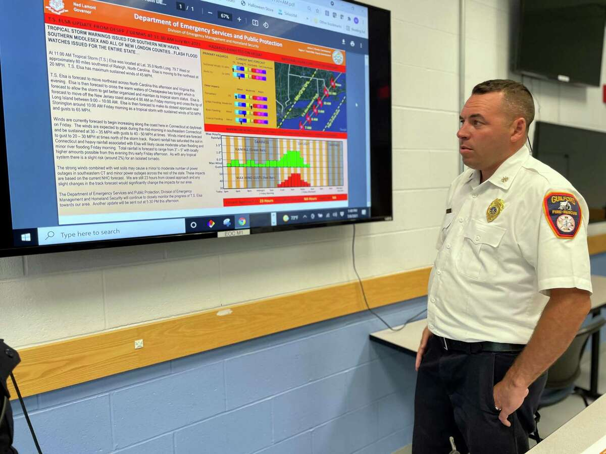 Assistant Guilford Fire Chief / Deputy Fire Marshal Michael Stove