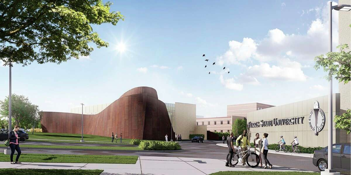 Building renderingshave been releasedfrom Washington D.C.-based design firm Howard+Revis which is heading theexpanded exhibition space development for thenew home to Ferris State University's Jim Crow Museum. (Courtesy photo)