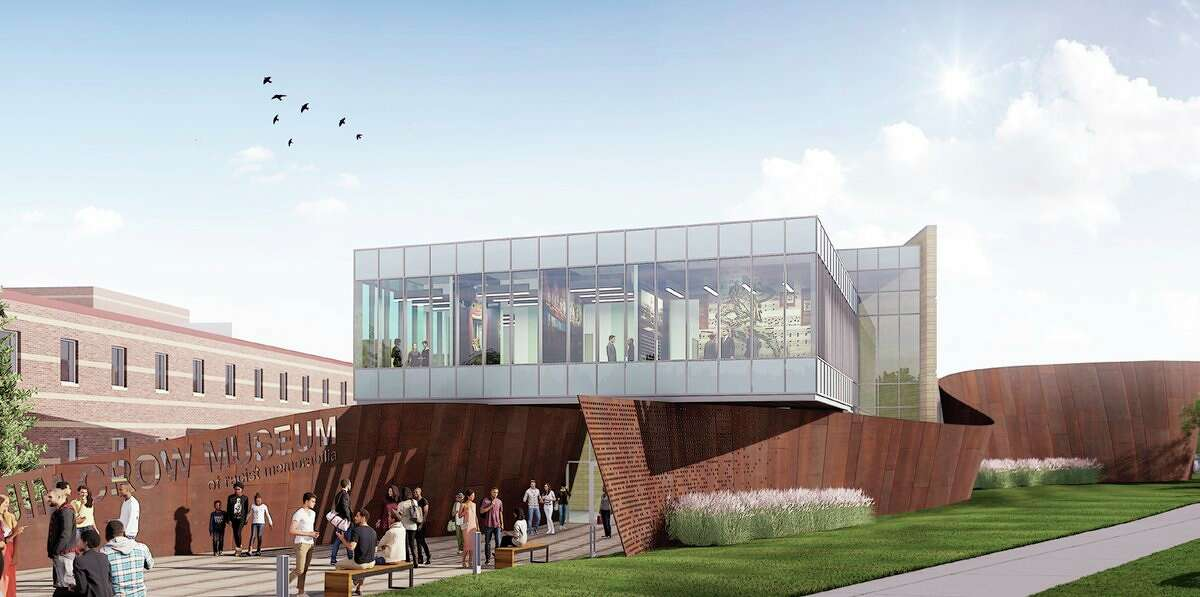 Building renderings have been releasedfrom Washington D.C.-based design firm Howard+Revis which is heading theexpanded exhibition space development for thenew home to Ferris State University's Jim Crow Museum. (Courtesy photo)