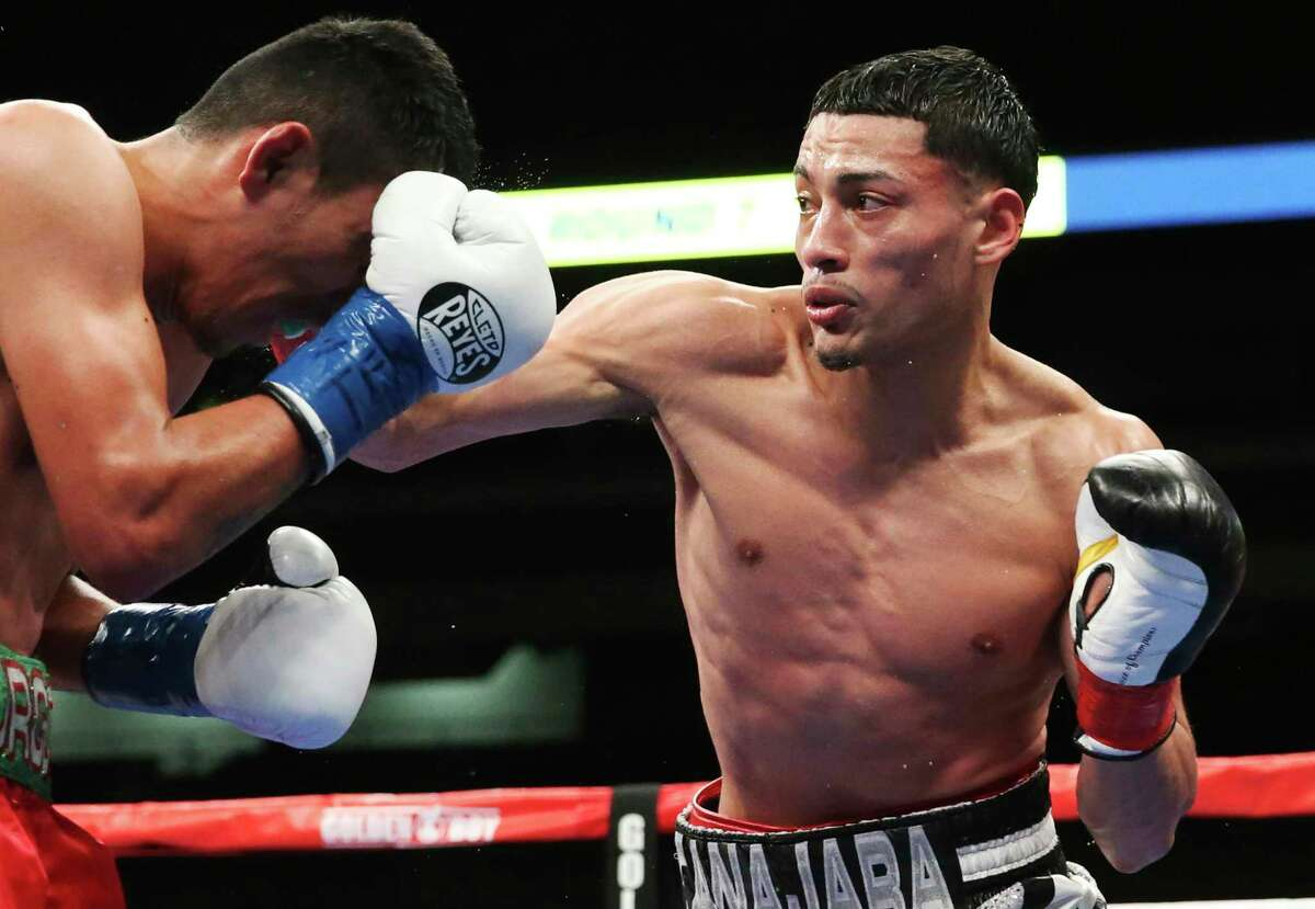 Hector Tanajara, Jr. fights Juan Carlos Burgos for the USNBC Lightweight Title as Golden Boy and DAZN present a full card at the Alamodome on Jan. 11, 2020.