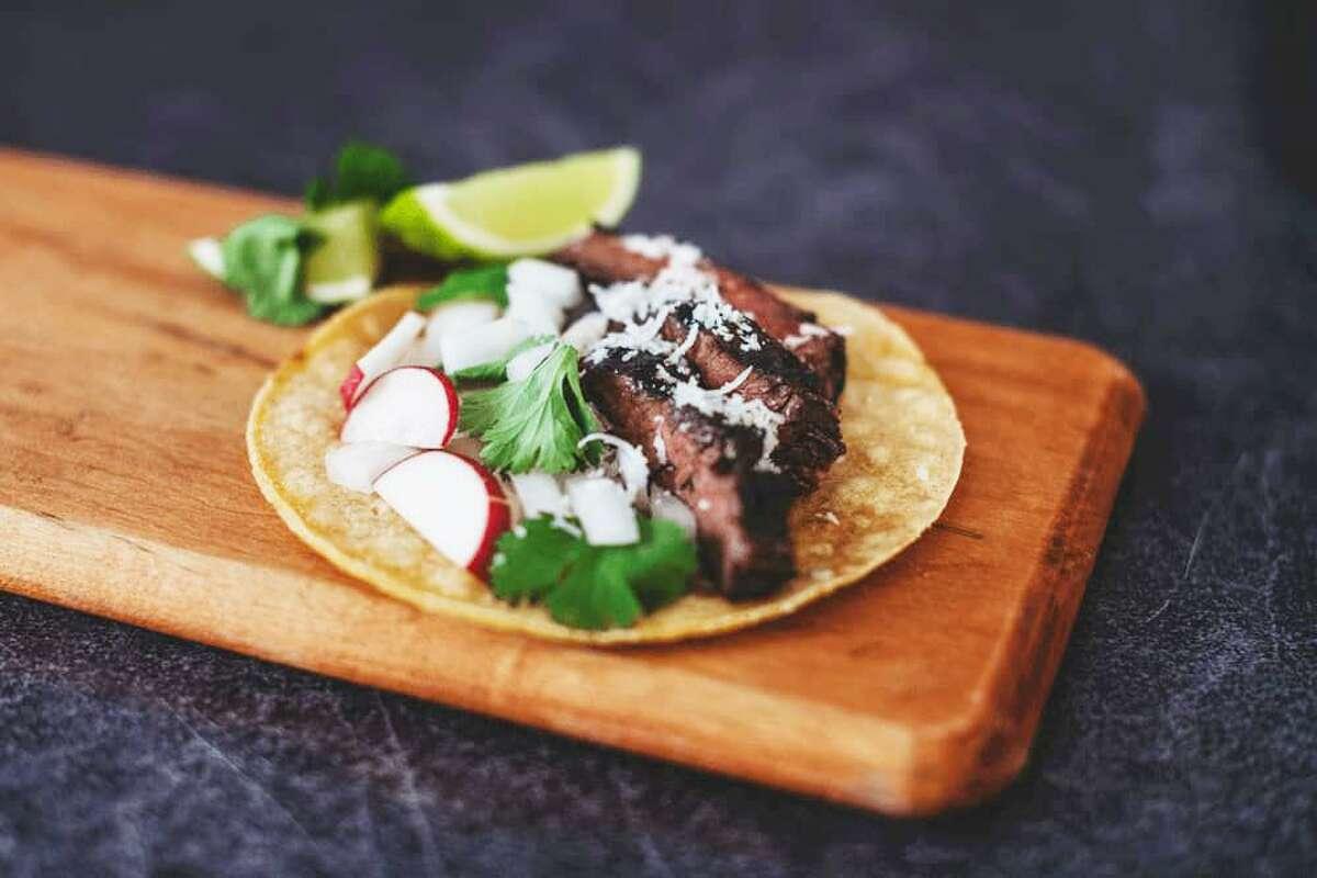 A Taco Flores dish