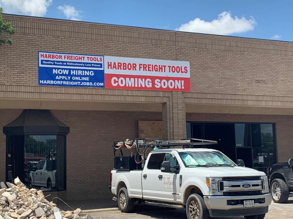 Harbor Freight plans to open by the end of the summer and seeks to employ between 25 to 30 people.