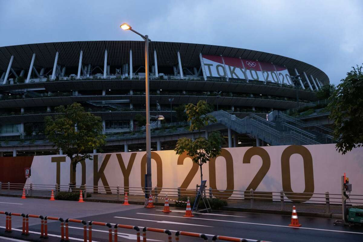 Tokyo's Olympic Stadium won't host fans during the Games after Japan declared a state of emergency because of COVID-19.