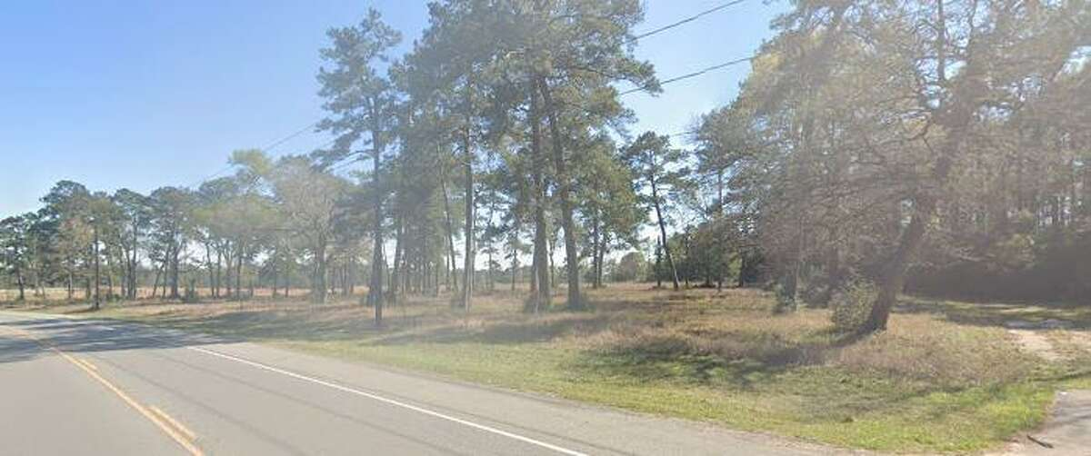 A unidentified man was found July 1 in this area of FM 3803 in Conroe.