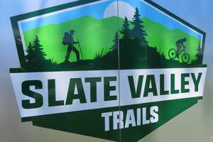 The multi-use Slate Valley Trails are in Poultney, Vt.