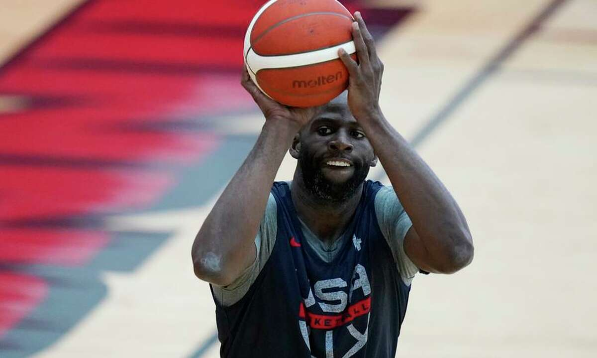 Draymond Green of the Warriors and Olympic team said that U.S. players are used to performing in empty arenas.