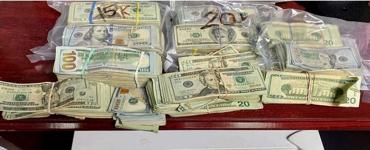 Texas DPS troopers seized more than $73,000 during a traffic stop in Maverick County.