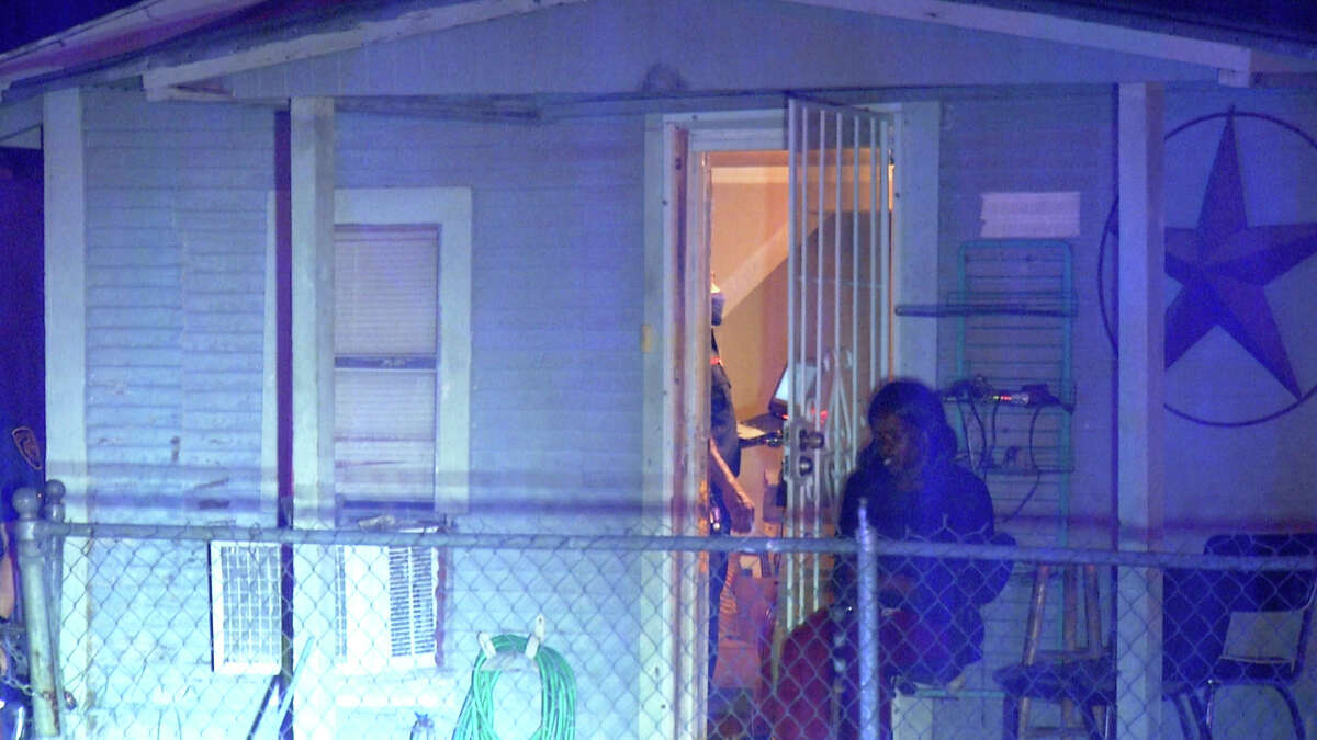 San Antonio police are searching for the person responsible for killing a 64-year-old man in his East Side home in the 400 block of Ferris Avenue on July 9.
