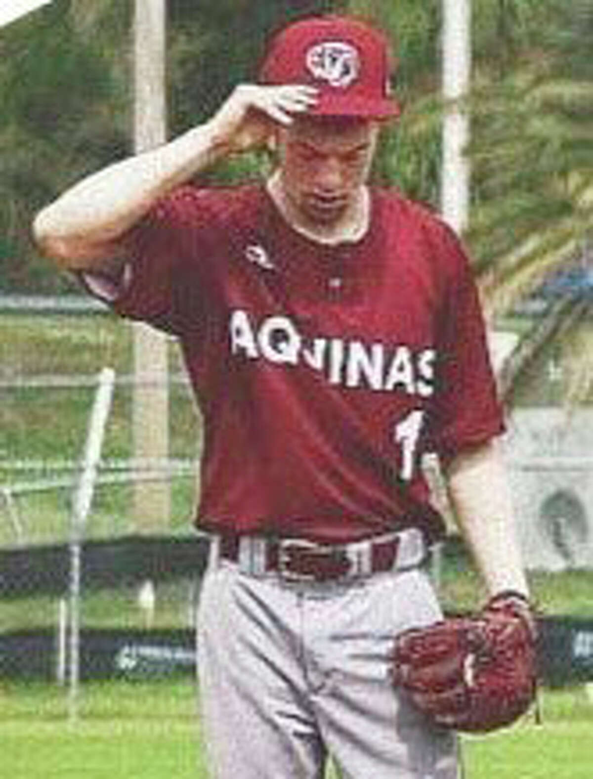 Former Reed City standout Hunter Morrison is a pitcher for Aquinas College.