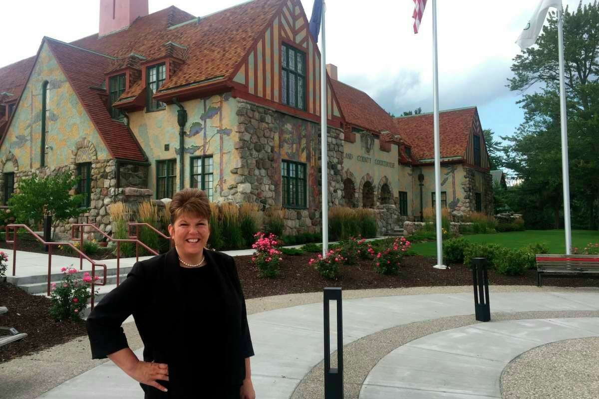 The Midland Rotary Club has awarded Angela Cole with the Rotary Hero Award for 2021. (File photo/Midland Daily News)