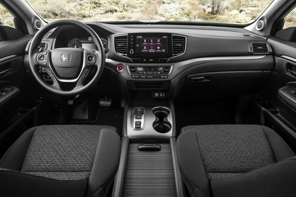 The 2021 Honda Ridgeline has a max towing capacity of 5,000 pounds.