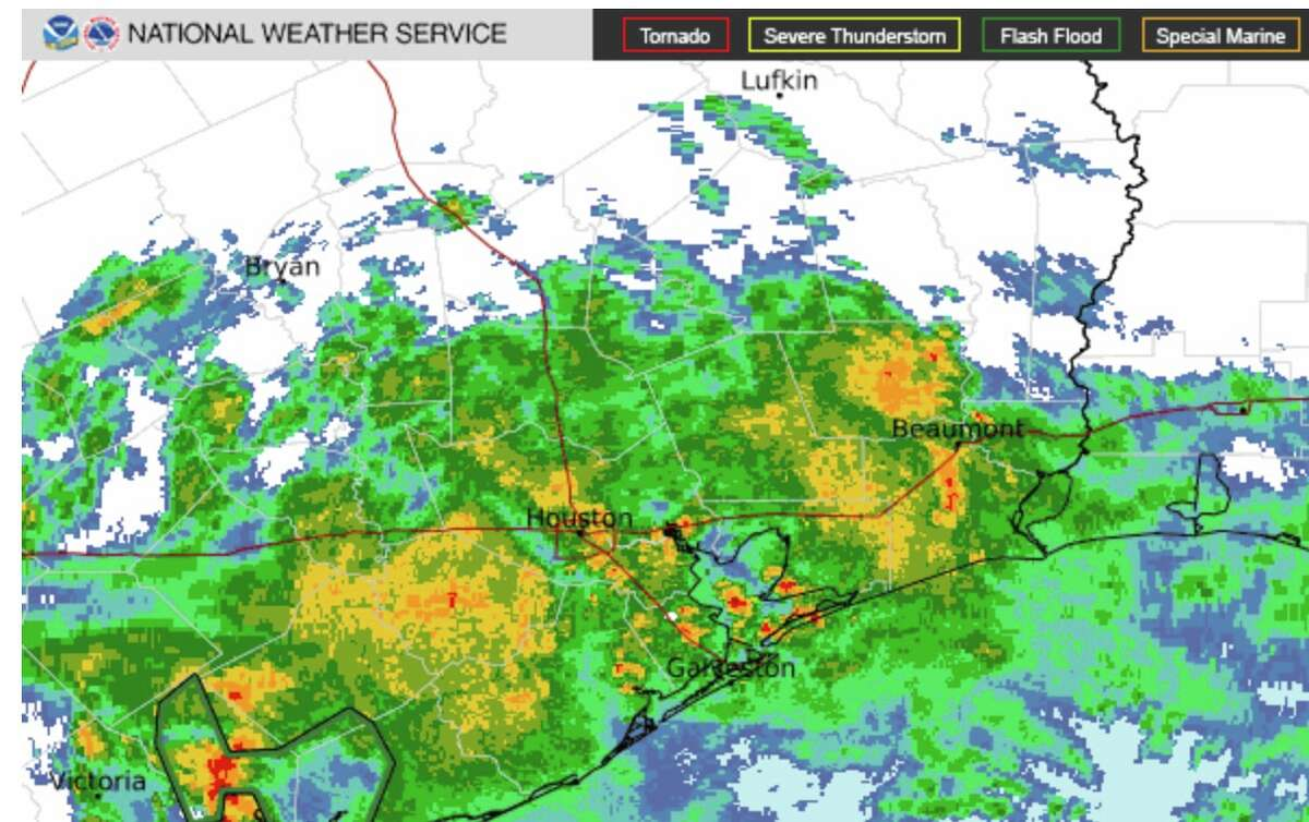 Rain continues to pummel Houston on Friday morning