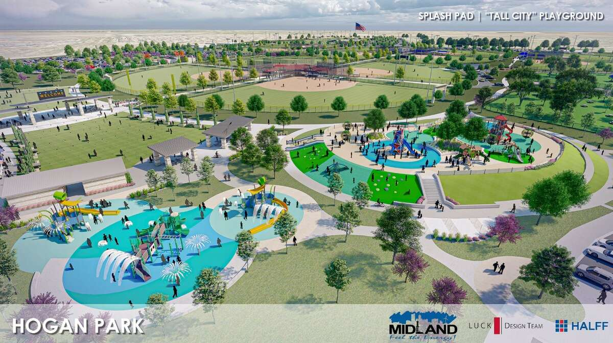 Here are renderings of the Hogan Park initiative.