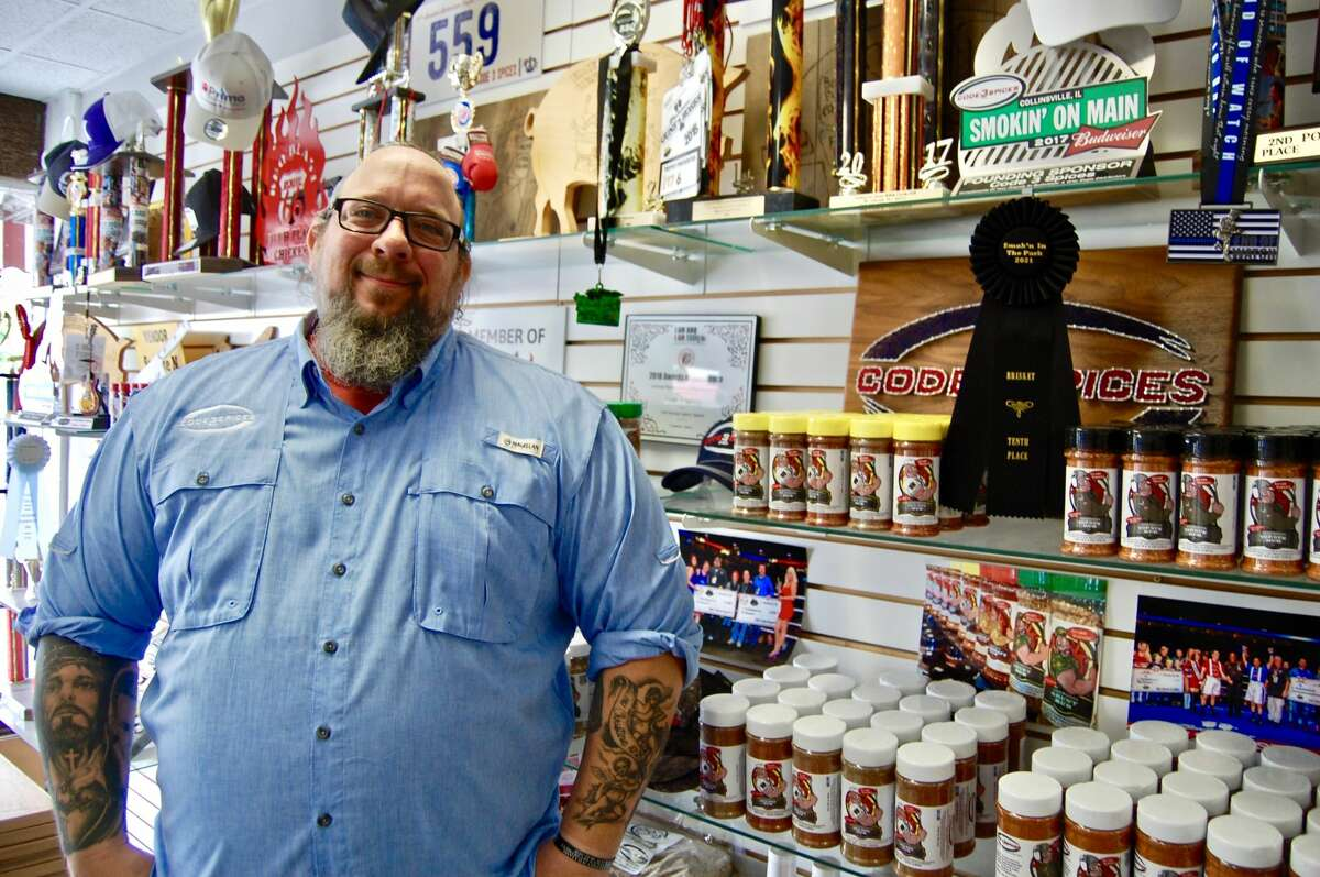 Mike Radosevich wanted to do what makes him happy. That was barbecue and he and his business partners at Code 3 Spices and Barbecue Supply have been successful ever since they came together.