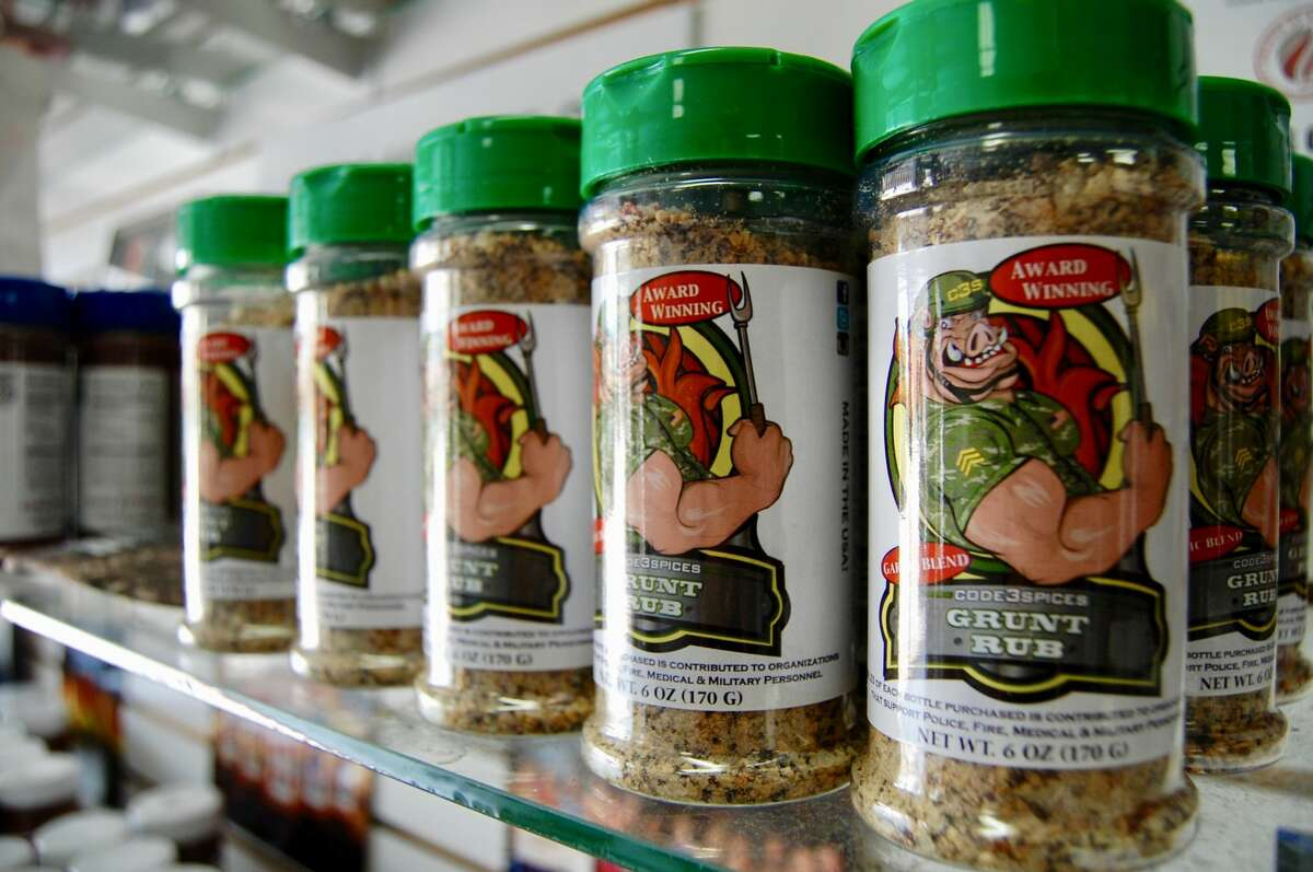 Grunt Rub is a very popular product from Code 3 Spices and Barbecue Supply currently. It's won several awards, and owner Mike Radosevich said he's hearing from other barbecue enthusiasts about their preferences in using it.
